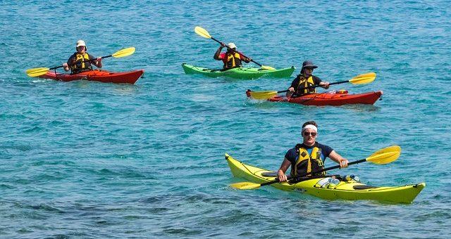 Attività sportiva di Canoa
